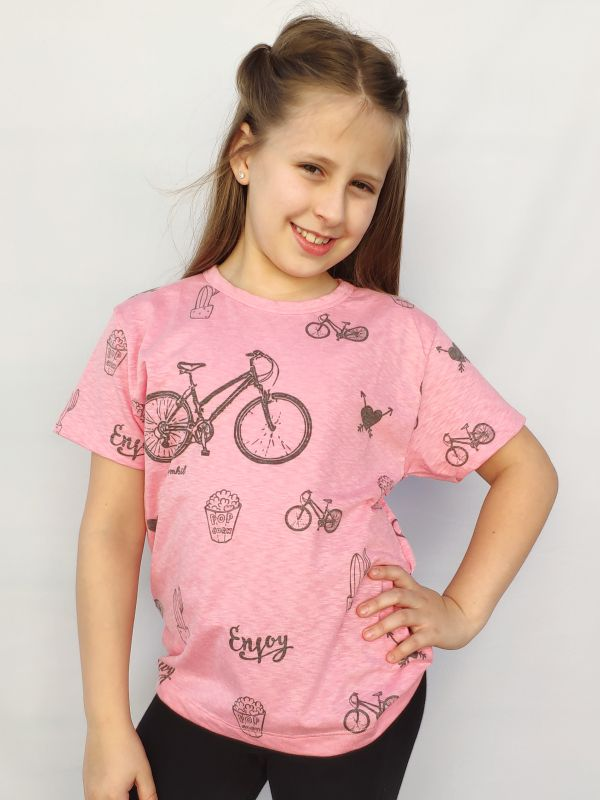 T-shirt juvenil Bike